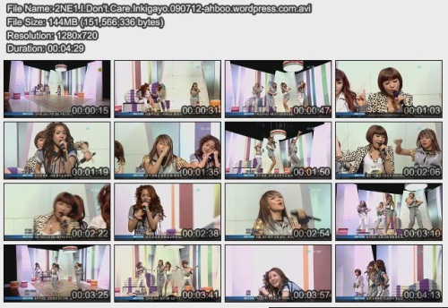 2NE1.I.Don't.Care.Inkigayo.090712-ahboo.wordpress.com